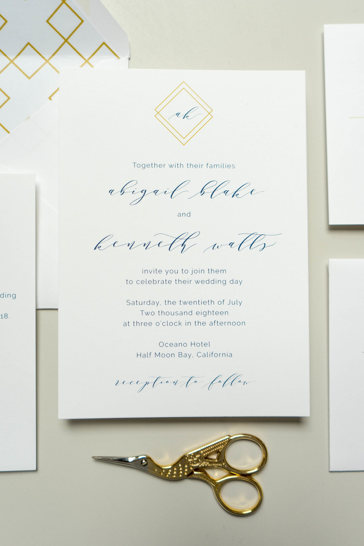 *Blue Modern Geometric Wedding Invitation by Just Jurf-7.jpg