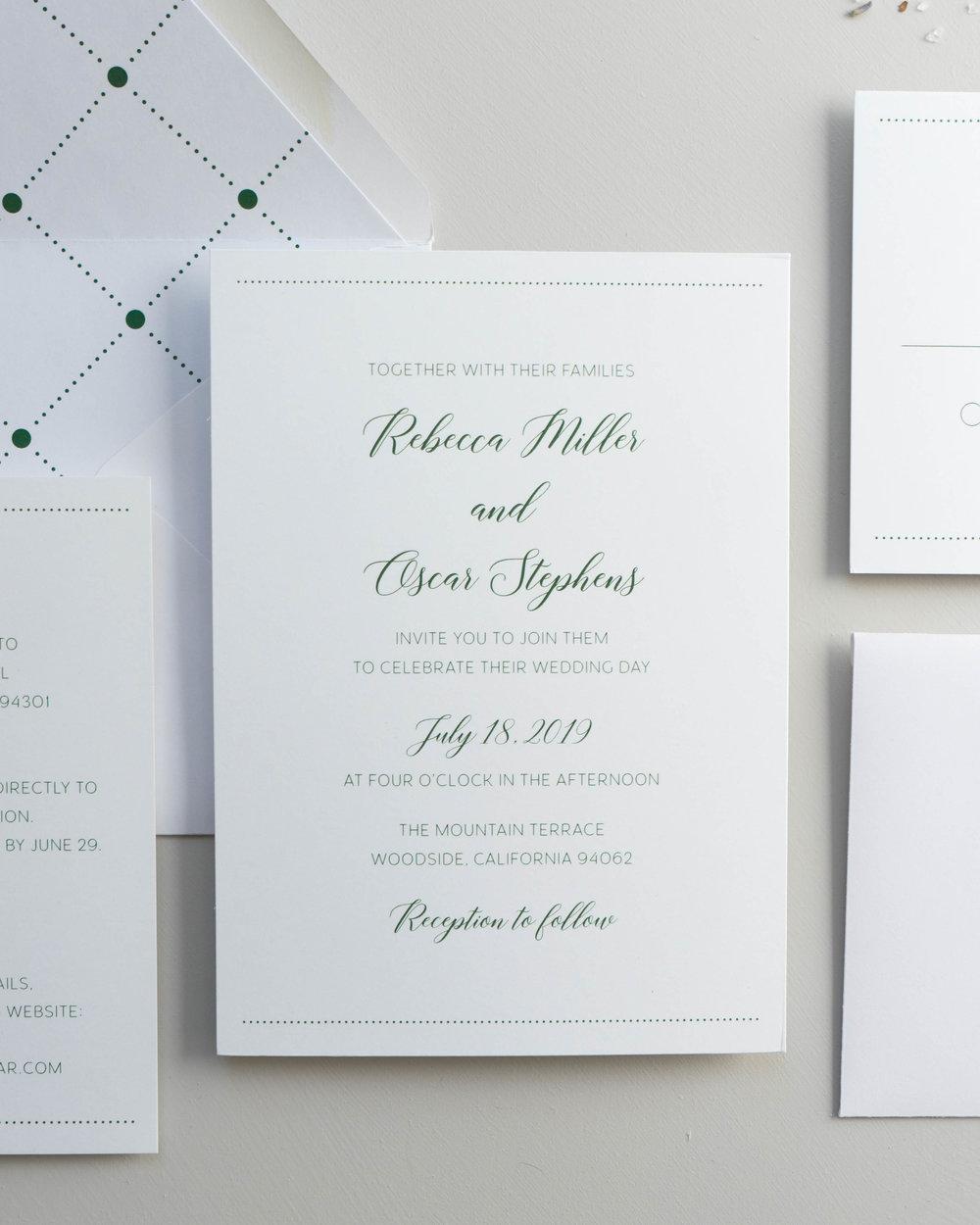 Simple Green Wedding Invitation by Just Jurf-01342.jpg