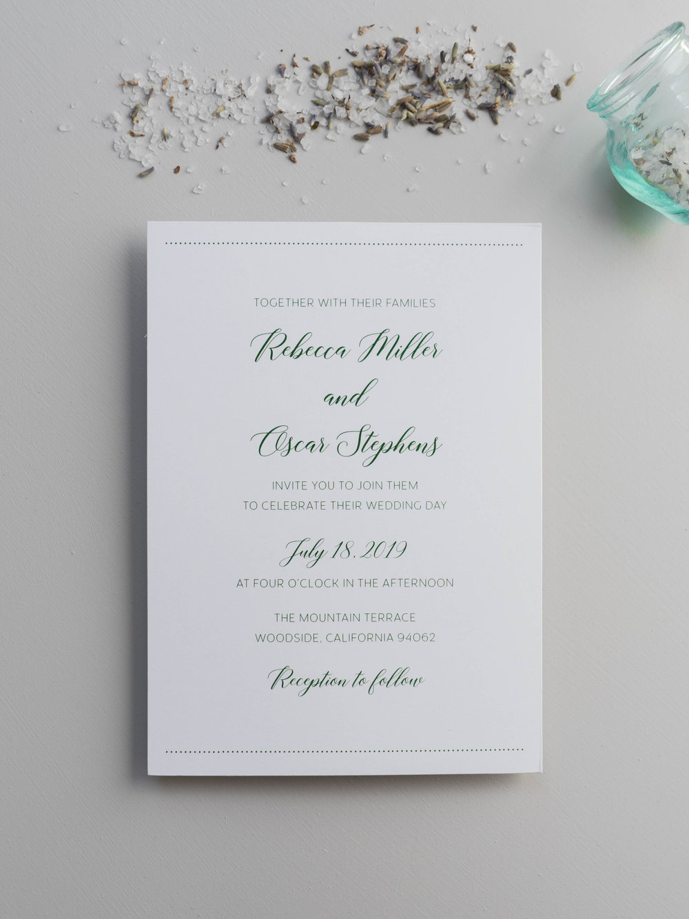 Simple Green Wedding Invitation by Just Jurf-01347.jpg