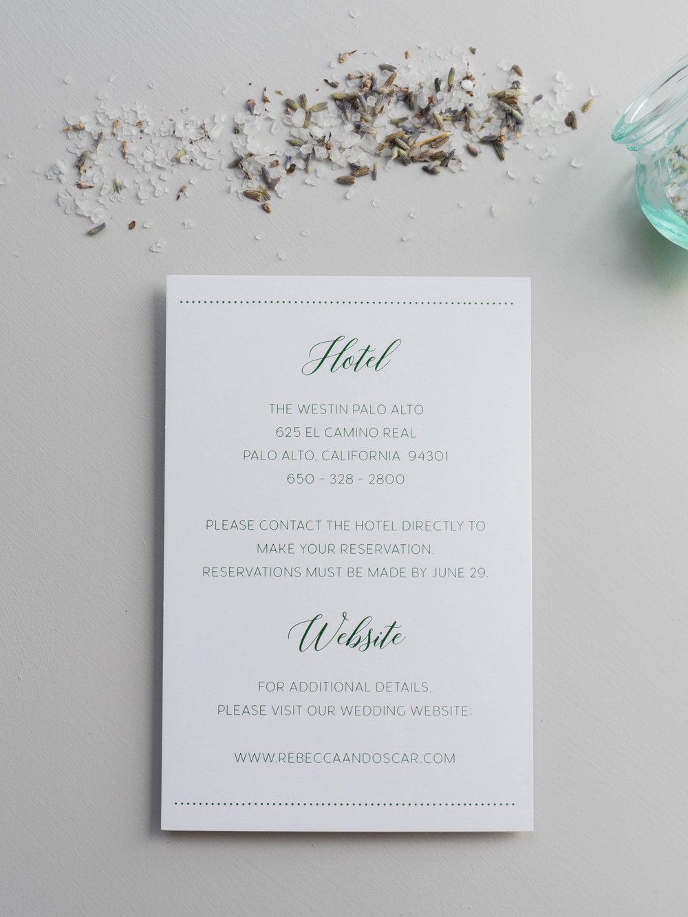 Simple Green Wedding Invitation by Just Jurf-01351.jpg