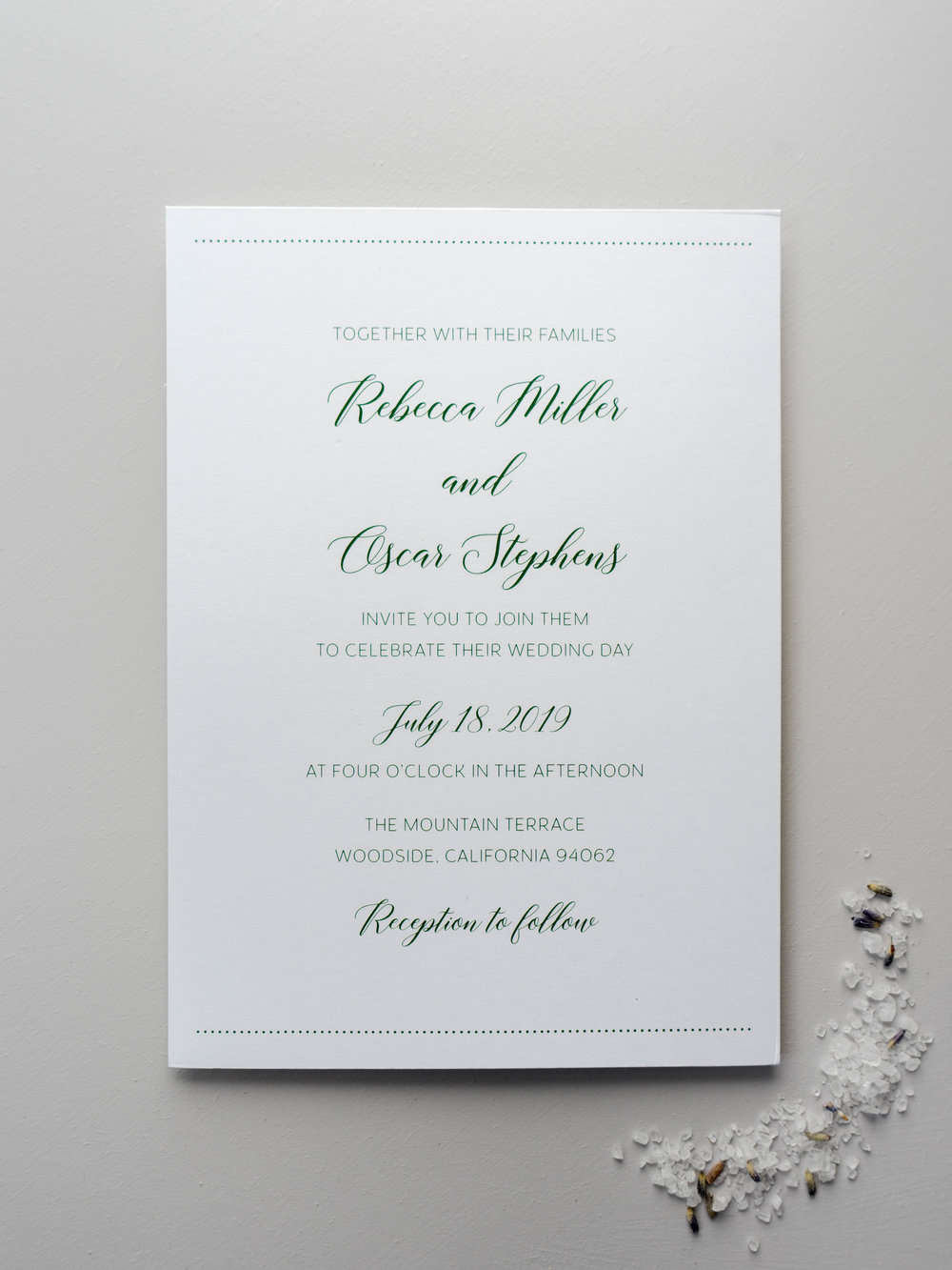 Simple Green Wedding Invitation by Just Jurf-01376.jpg