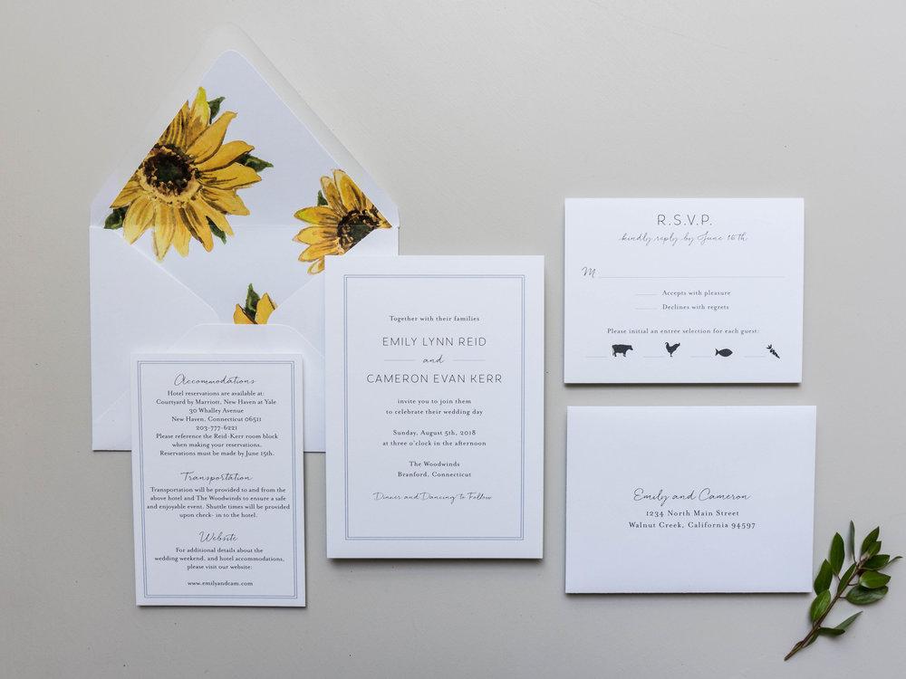 *Sunflower Wedding Invitations by Just Jurf-1.jpg