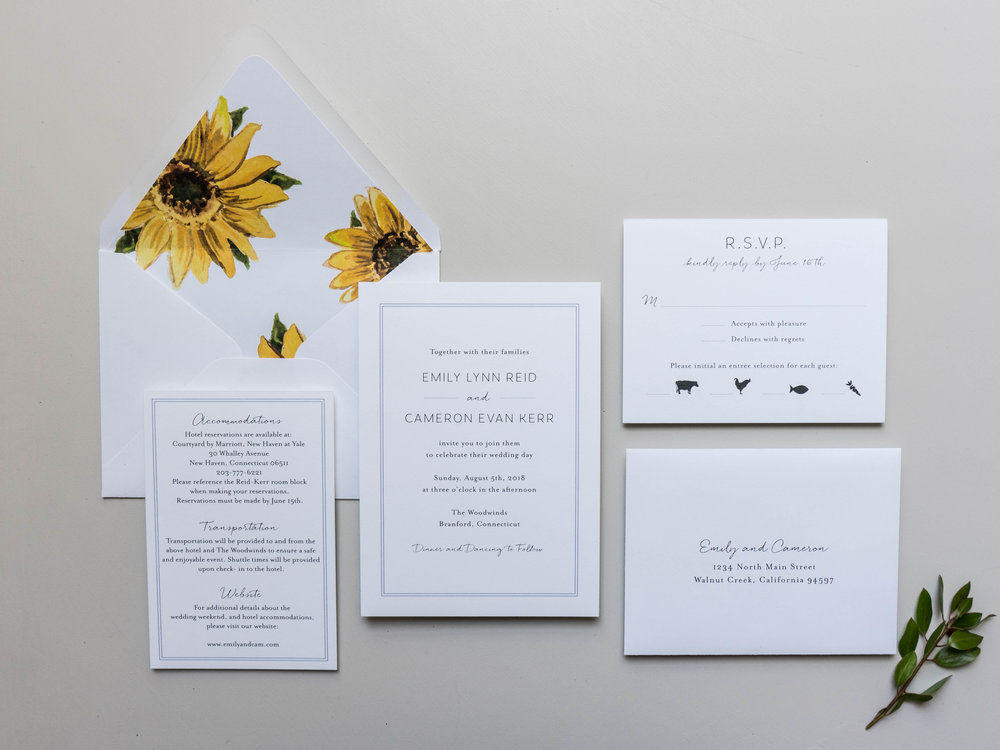 *Sunflower Wedding Invitations by Just Jurf-1.jpg
