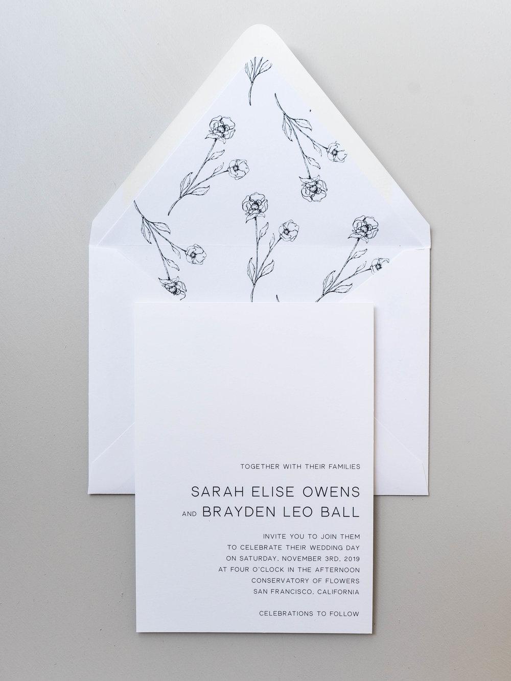 *Modern Floral Wedding Invitations by Just Jurf-7.jpg