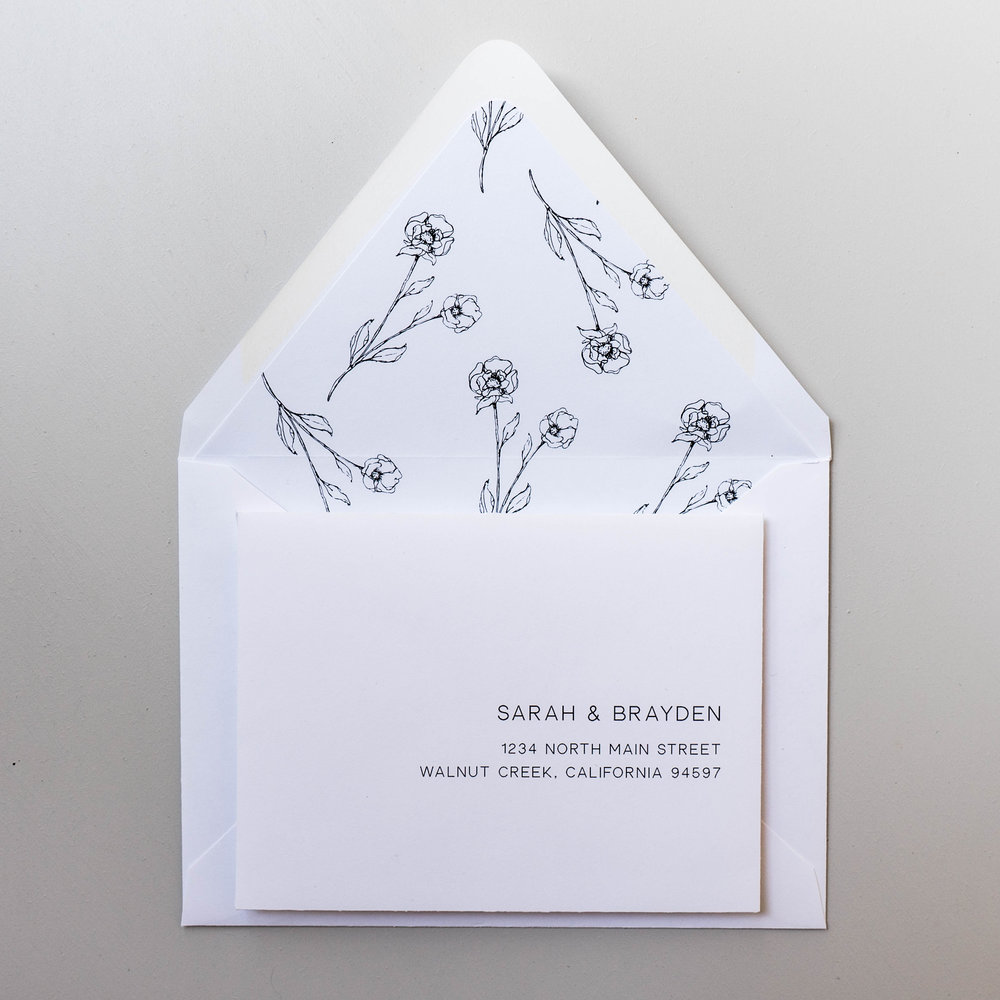 *Modern Floral Wedding Invitations by Just Jurf-8.jpg