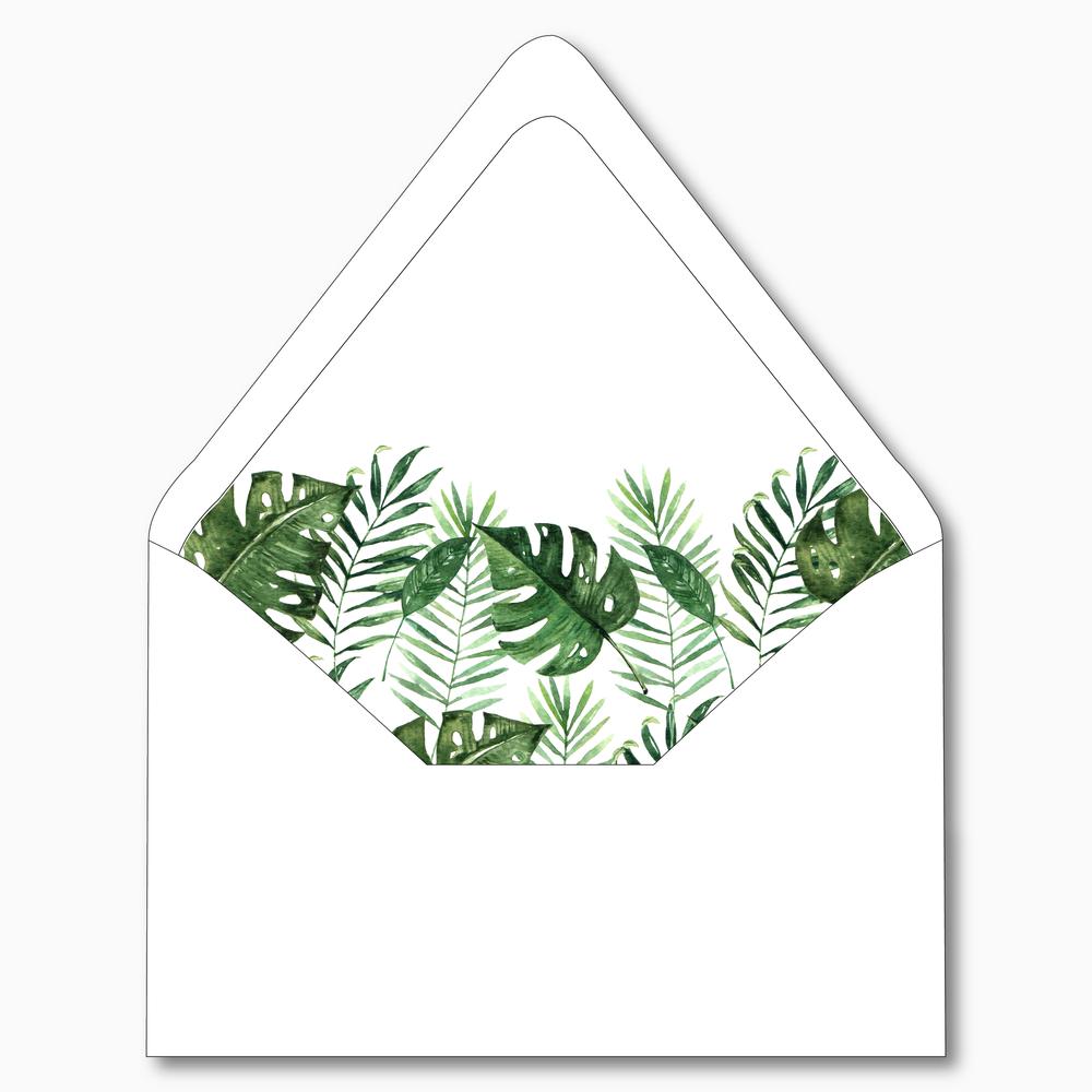 NC4 - Tropical Palm Leaf
