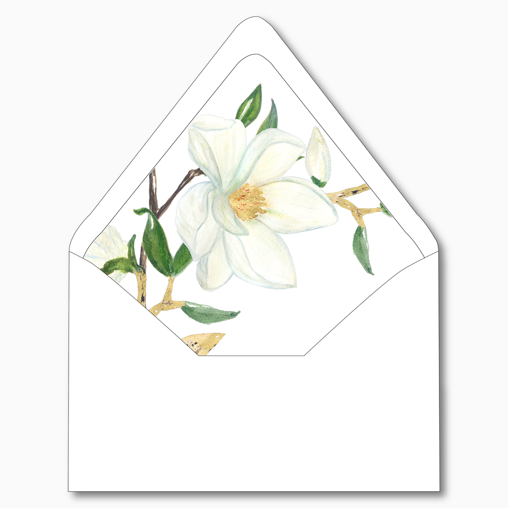 NC8 Magnolia Floral