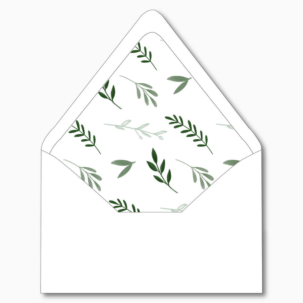 NC19 - Elegant Greenery