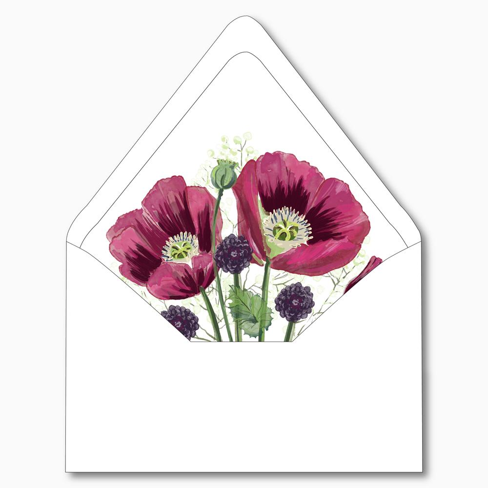 NC26 Burgundy Poppy