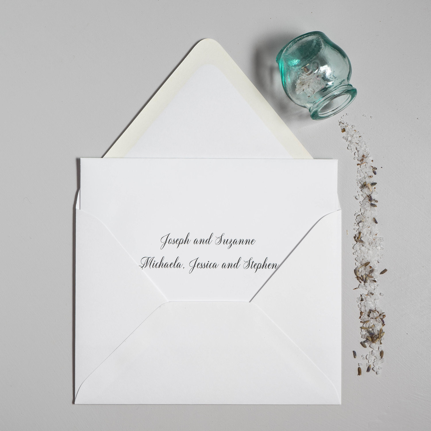 inner and outer envelopes for your wedding invitations just jurf