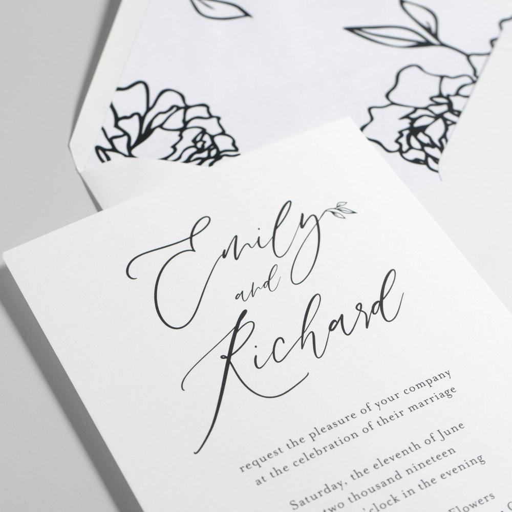 *Minimalist Leaf Wedding Invitations by Just Jurf-11.jpg