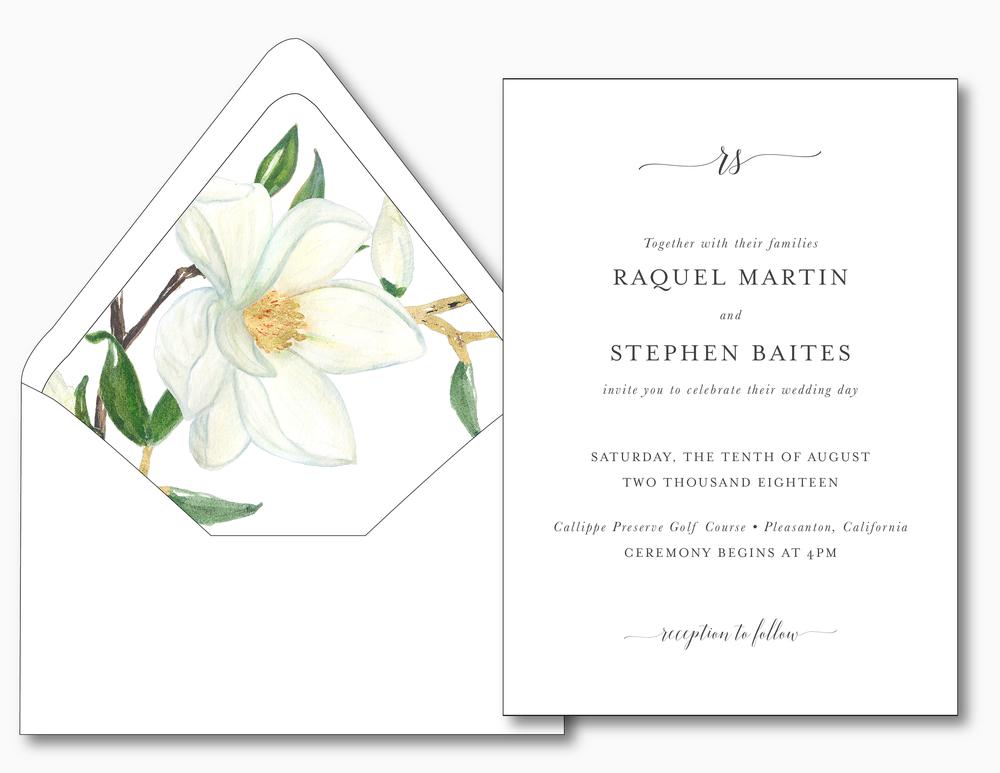 Magnolia Floral