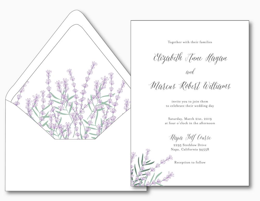 Lavender Floral