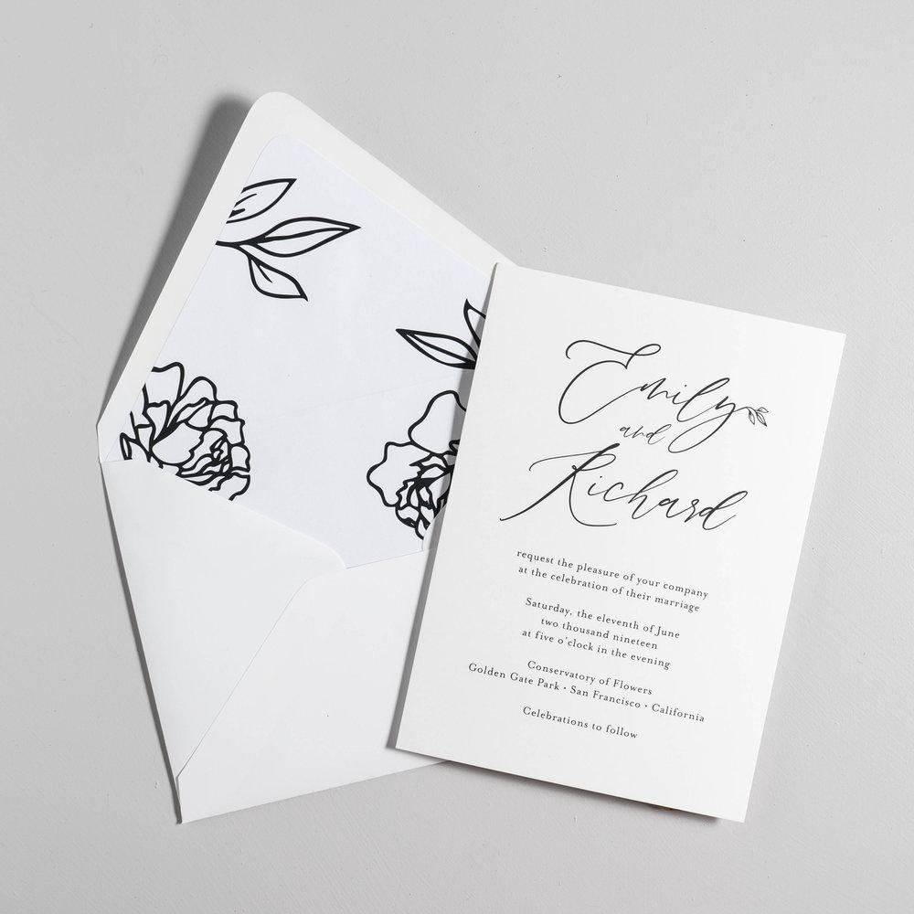 *Minimalist Leaf Wedding Invitations by Just Jurf-8.jpg