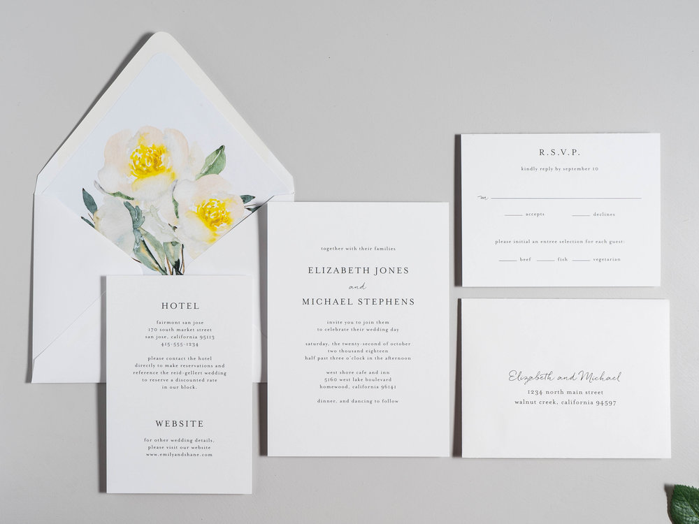 Botanical Minimalist V2 Wedding Invitations by Just Jurf-1b.jpg