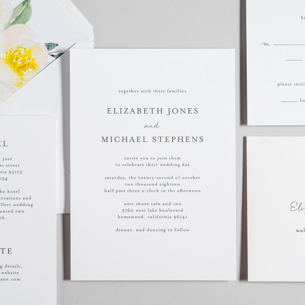 Botanical Minimalist V2 Wedding Invitations by Just Jurf-2.jpg
