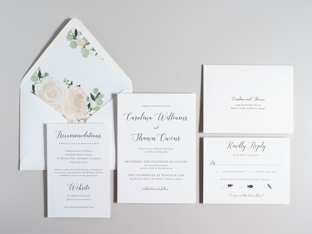 Blush Floral Calligraphy Wedding Invitations by Just Jurf-1b.jpg