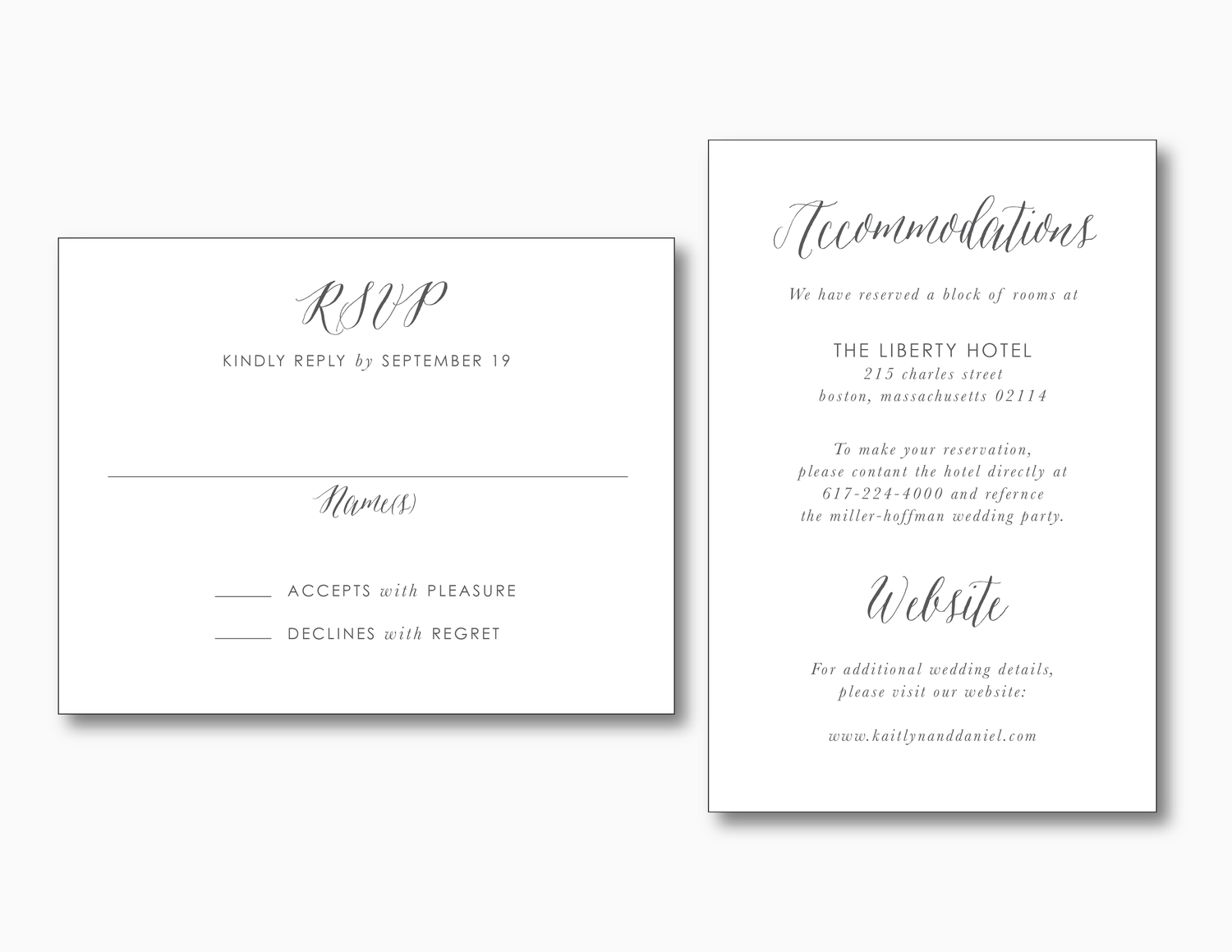 Modern Peach Watercolor Floral Wedding Invitation — Just Jurf Designs