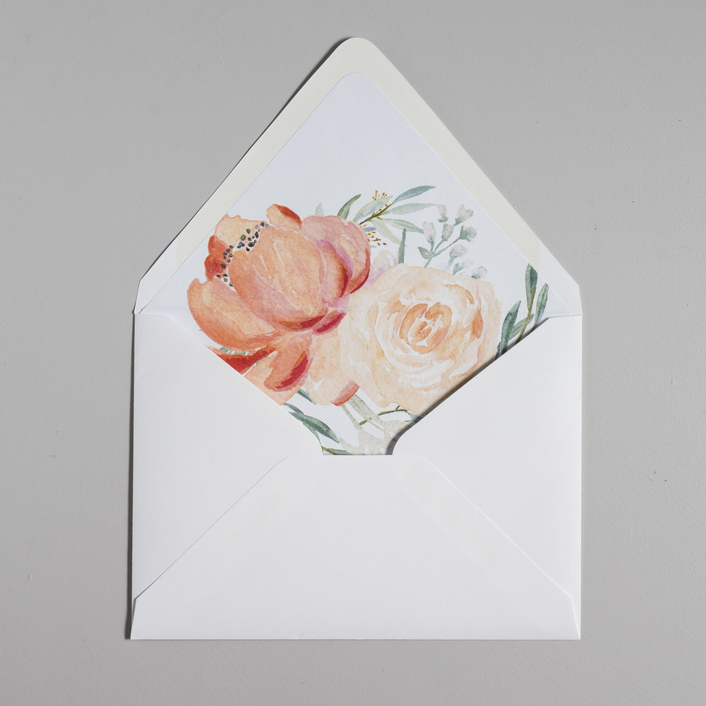 Modern Peach Watercolor Floral Wedding Invitations by Just Jurf-9.jpg