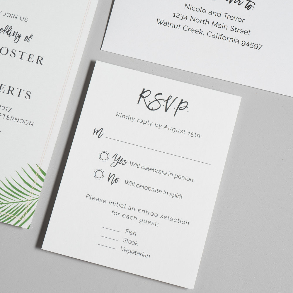 Soft Tropical Palm Leaf Wedding Invitations by Just Jurf-4.jpg