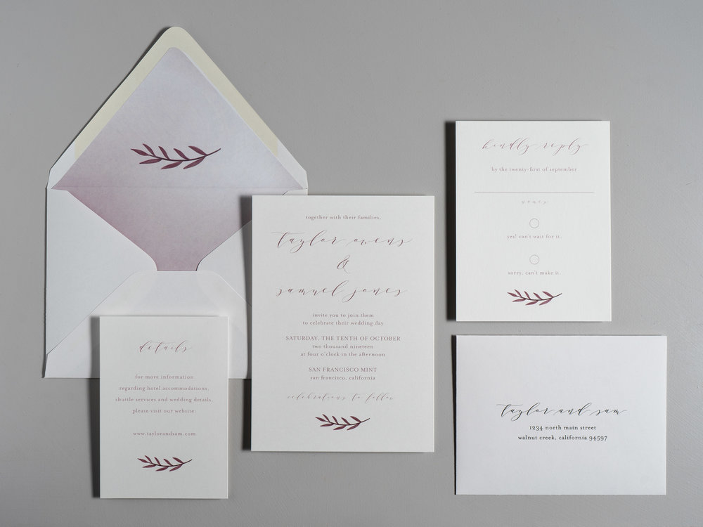 Modern Mauve Wedding Invitations by Just Jurf-1.jpg