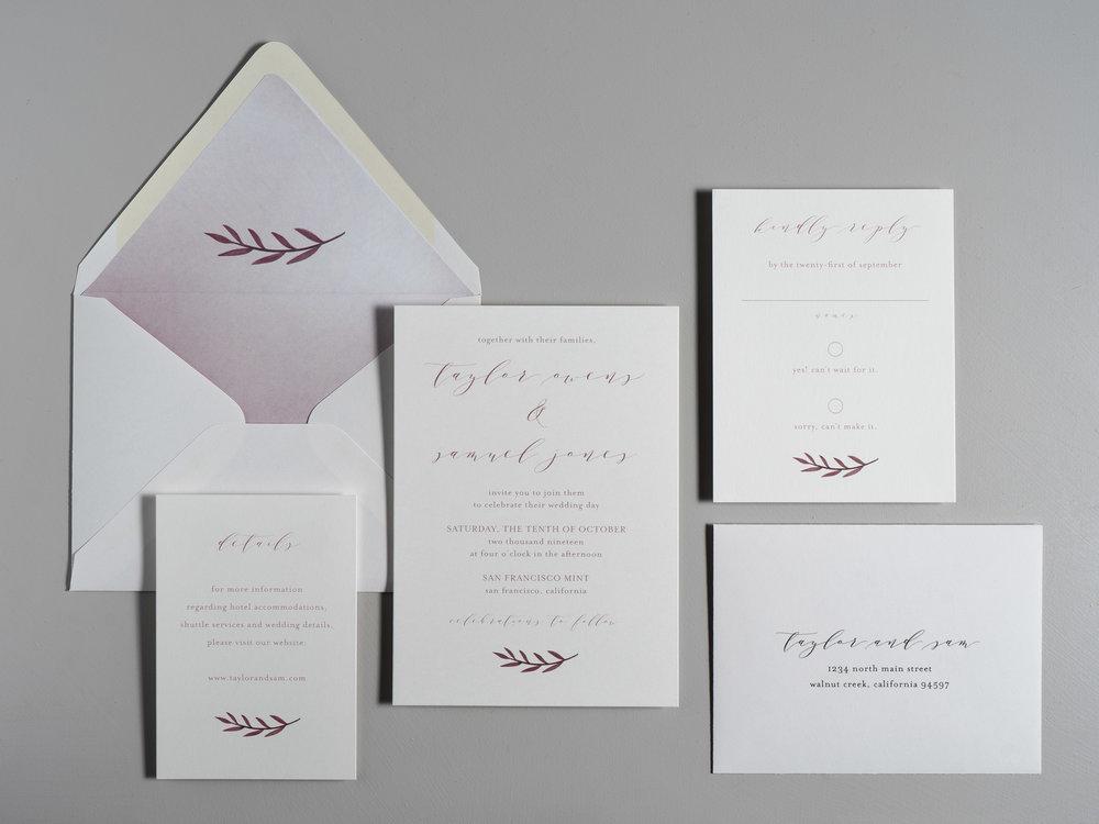 Modern Mauve Wedding Invitations by Just Jurf-1.jpg