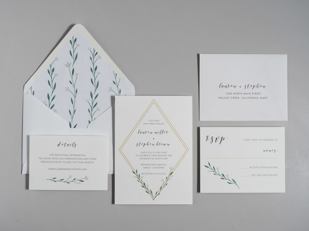 Simple Geometric Floral Wedding Invitations by Just Jurf-1b.jpg