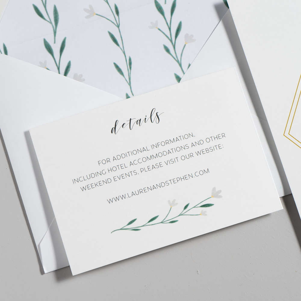Simple Geometric Floral Wedding Invitations by Just Jurf-3b.jpg