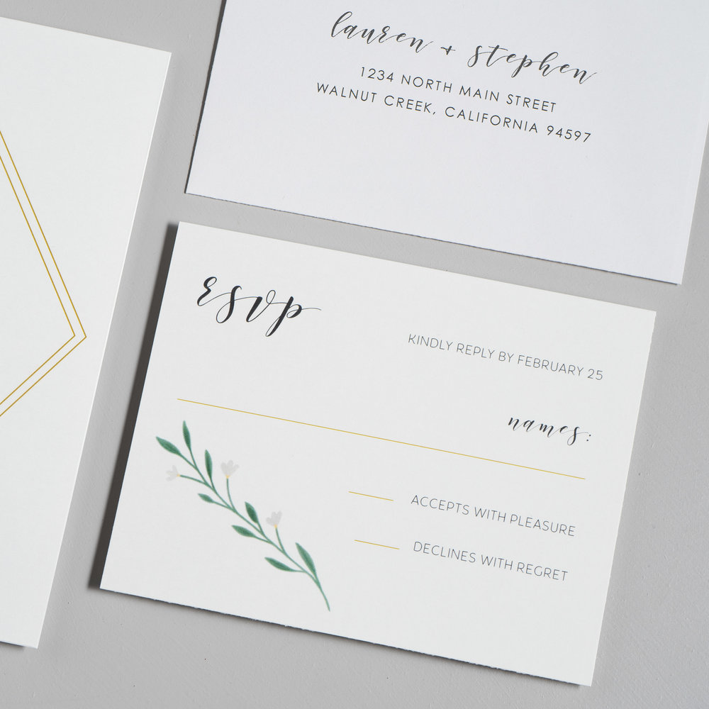 Simple Geometric Floral Wedding Invitations by Just Jurf-4.jpg