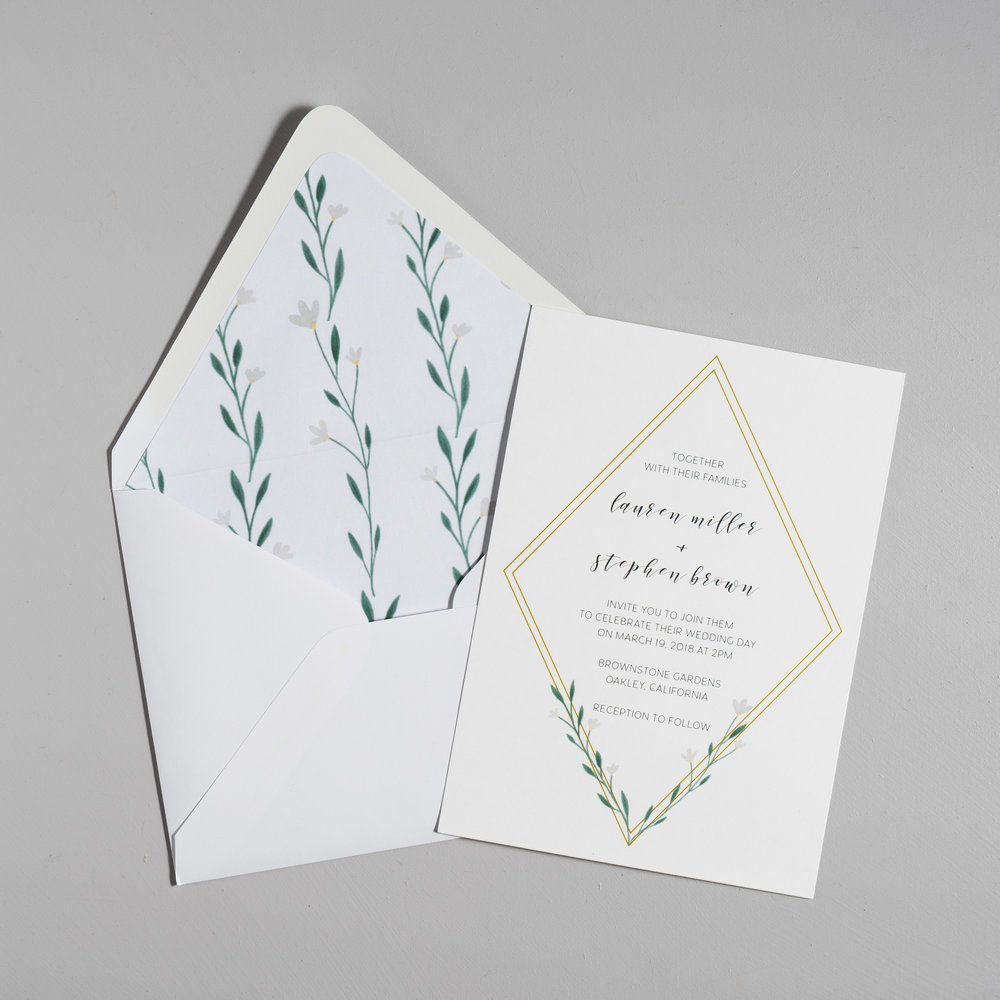 Simple Geometric Floral Wedding Invitations by Just Jurf-5.jpg