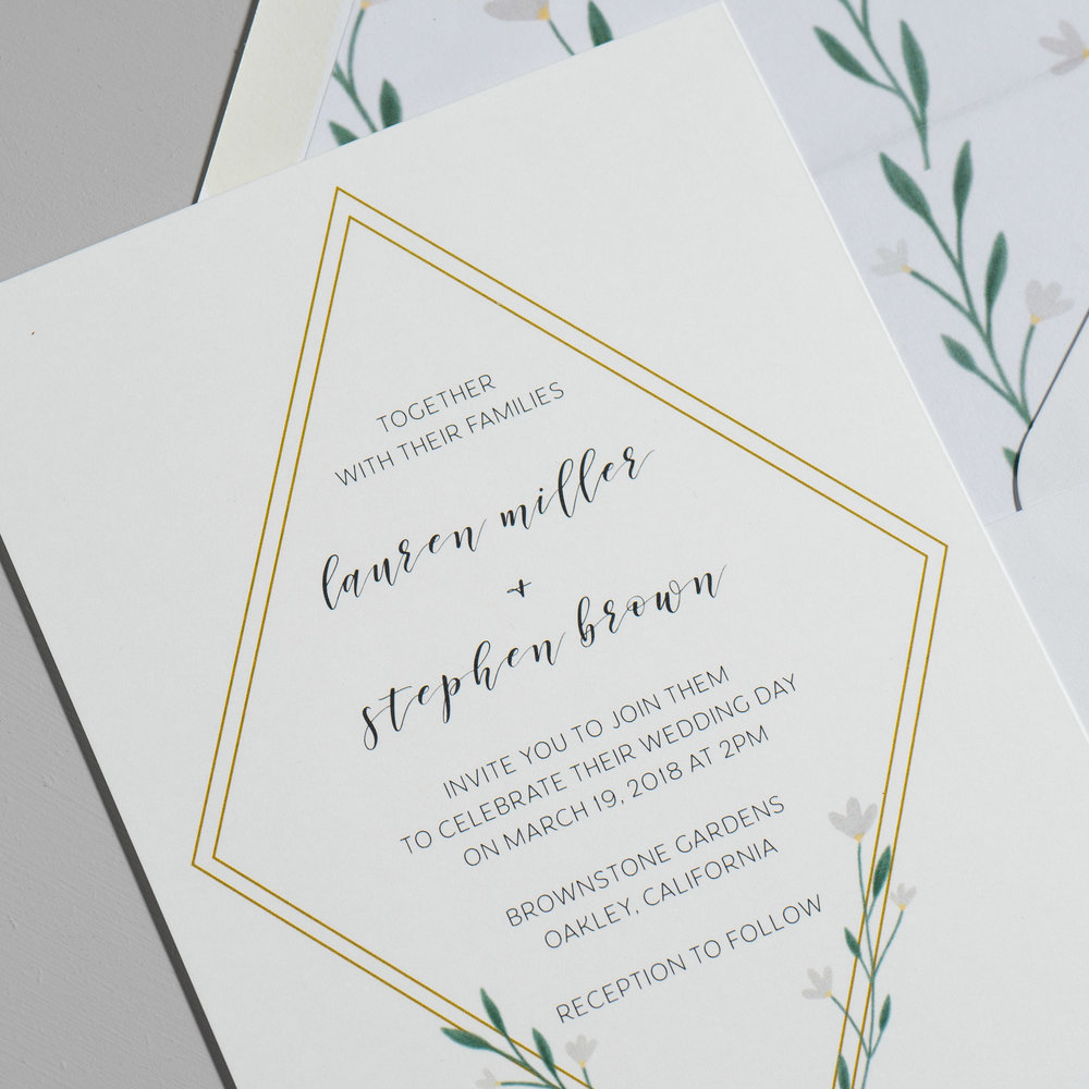 Simple Geometric Floral Wedding Invitations by Just Jurf-8.jpg