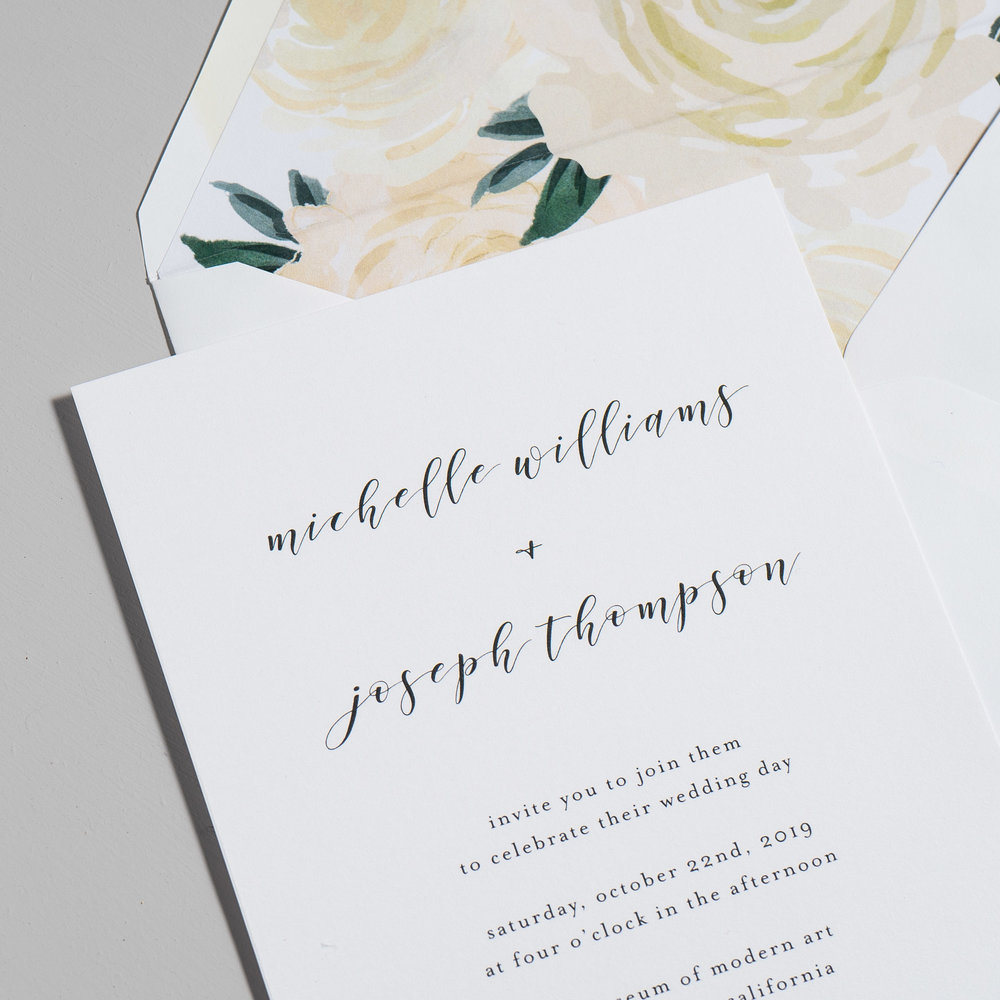 Minimalist Floral Wedding Invitations by Just Jurf-8a.jpg