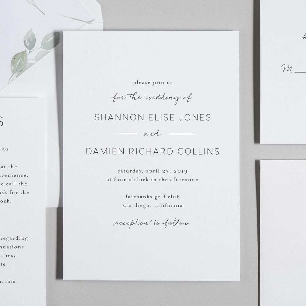 Eucalyptus Minimalist V2 Wedding Invitations by Just Jurf-2.jpg