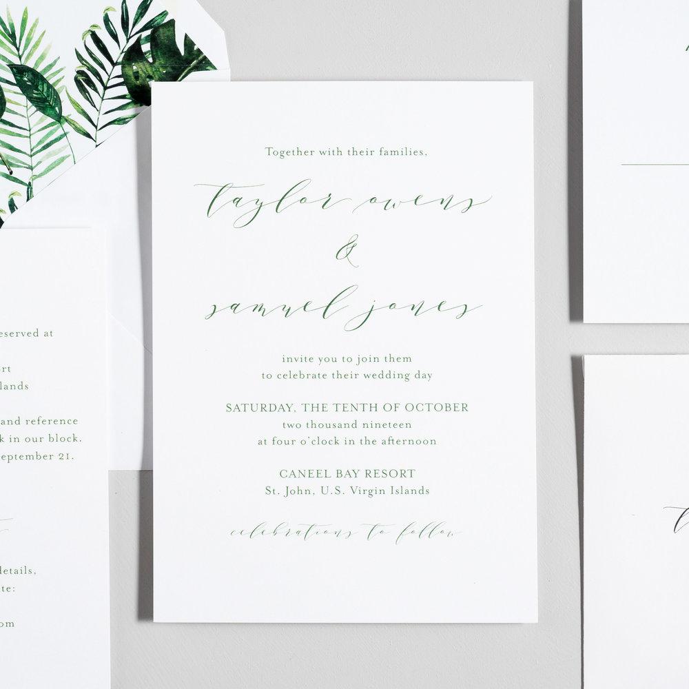 Modern Tropical Wedding Invitations by Just Jurf-2.jpg