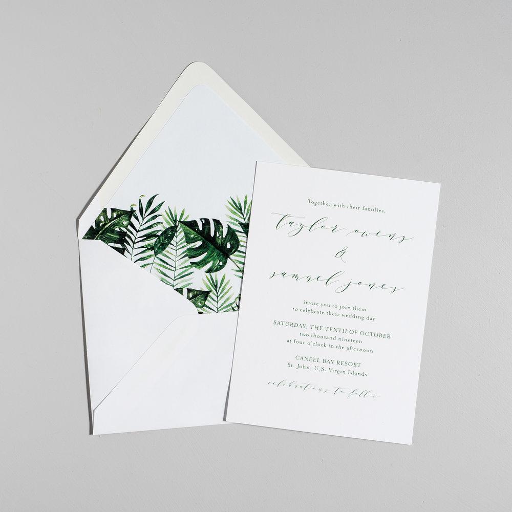 Modern Tropical Wedding Invitations by Just Jurf-5.jpg