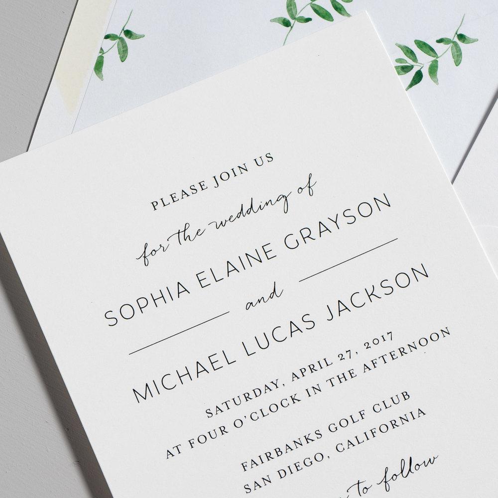 Greenery Minimalist Wedding Invitations by Just Jurf-8a.jpg