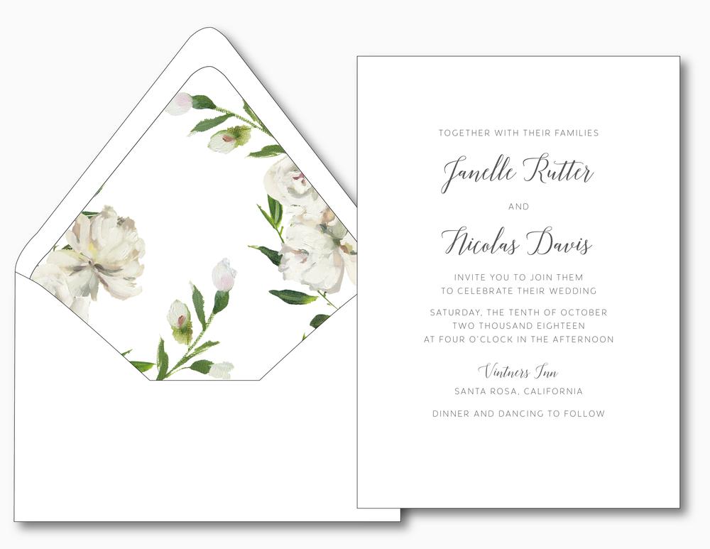 Simple Script V2 Wedding Invitation by Just Jurf