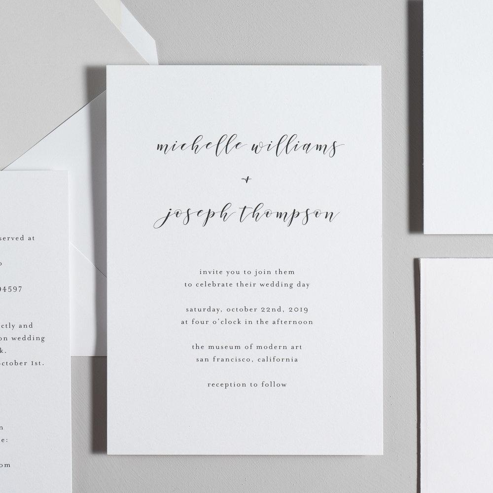 Delicate Minimalist Wedding Invitations by Just Jurf-2.jpg