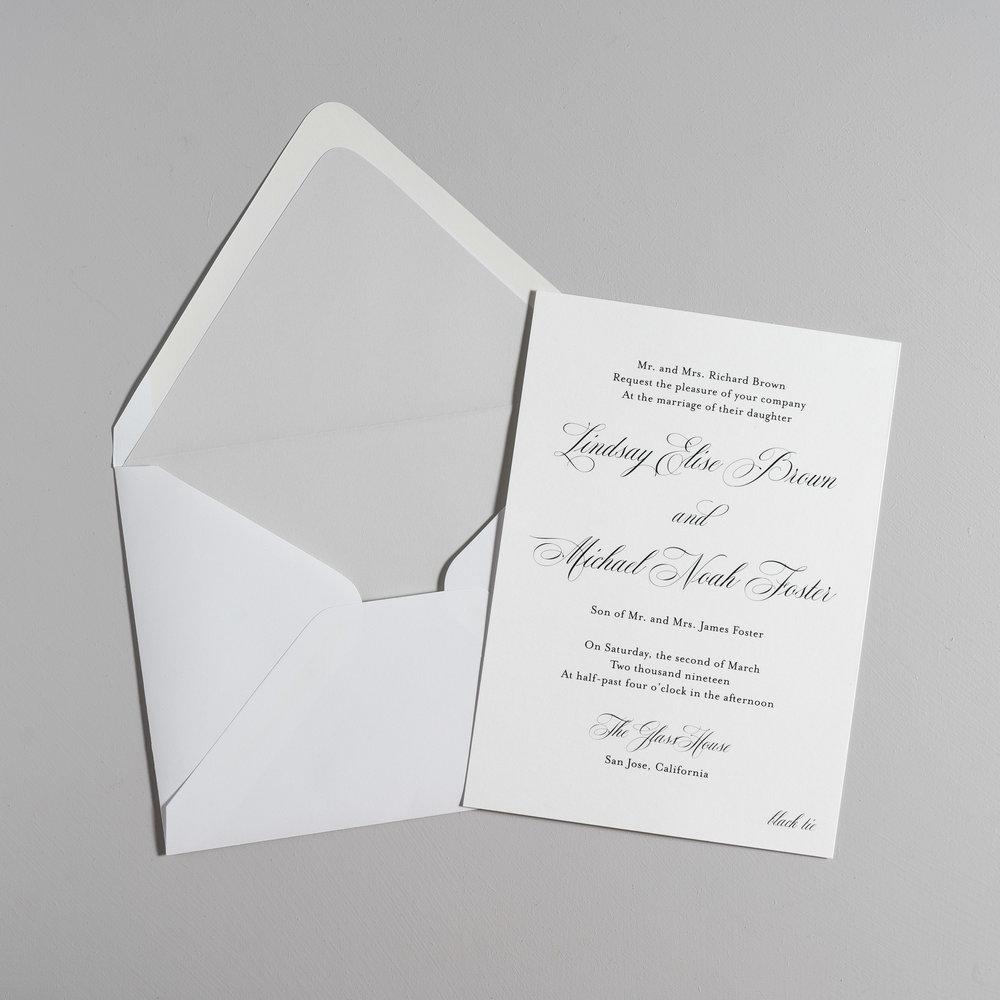 Elegant Script Wedding Invitations by Just Jurf-5.jpg