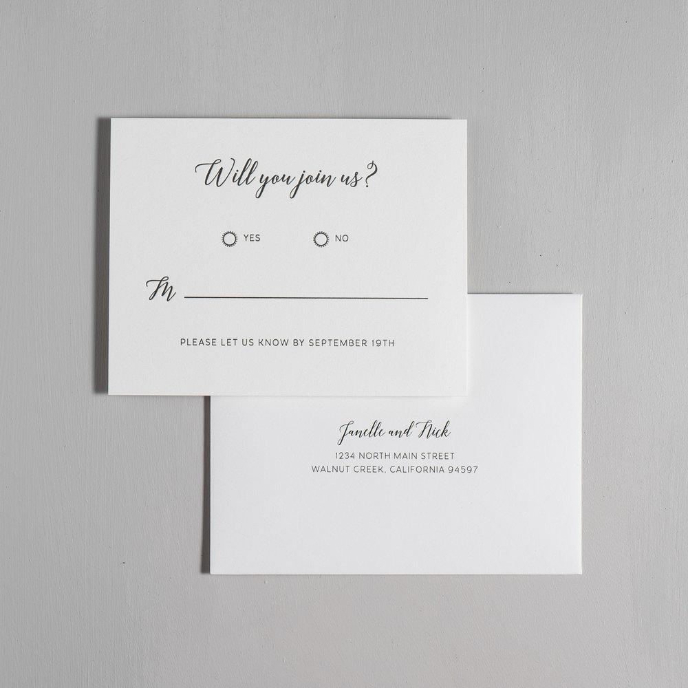 *Simple Script V2 Letterpress Wedding Invitations by Just Jurf-6.jpg