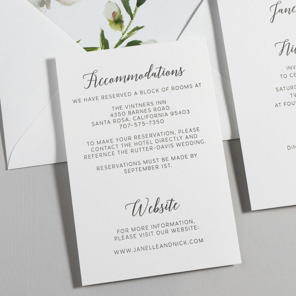 Simple Script V2 Letterpress Wedding Invitations by Just Jurf-3.jpg