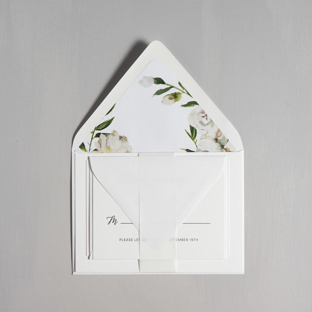 Simple Script V2 Letterpress Wedding Invitations by Just Jurf-10.jpg