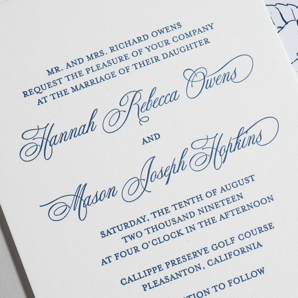 Elegant Anemone Letterpress Wedding Invitations by Just Jurf-8b.jpg