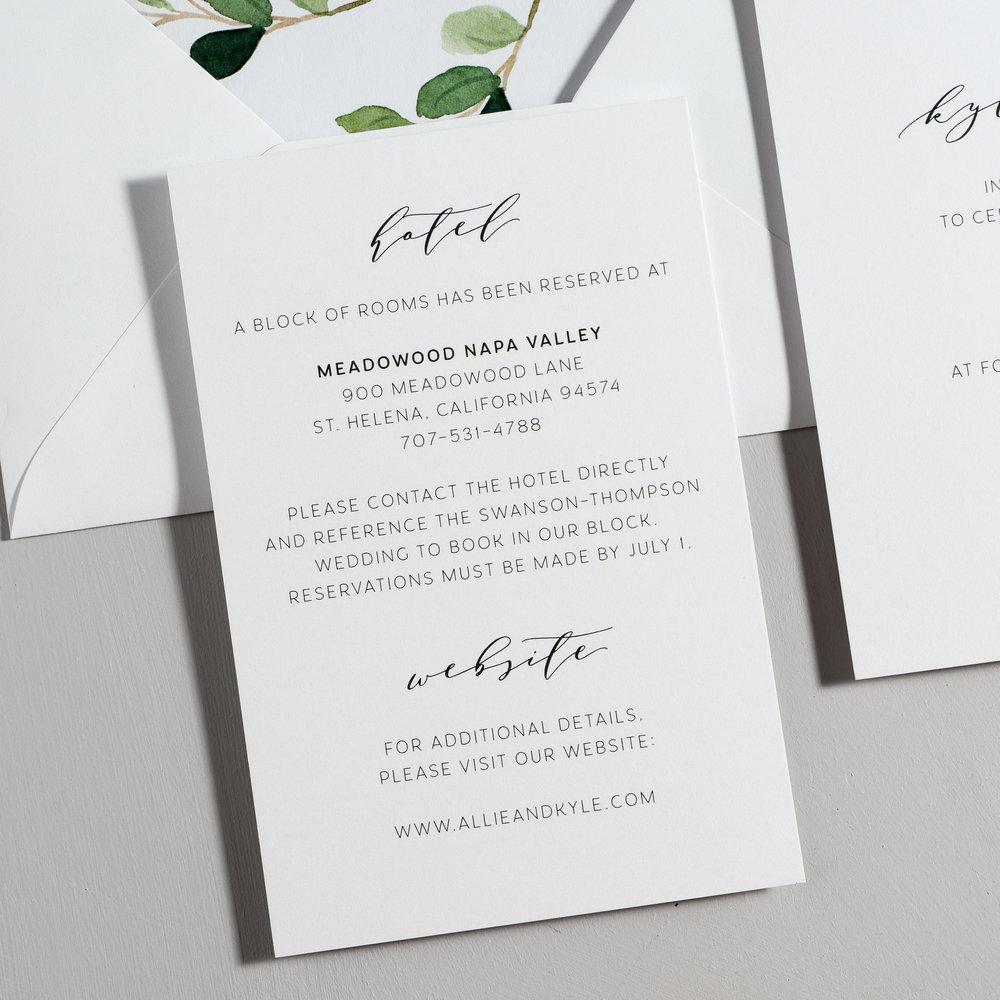 Modern Greenery V2 Wedding Invitations by Just Jurf-3.jpg