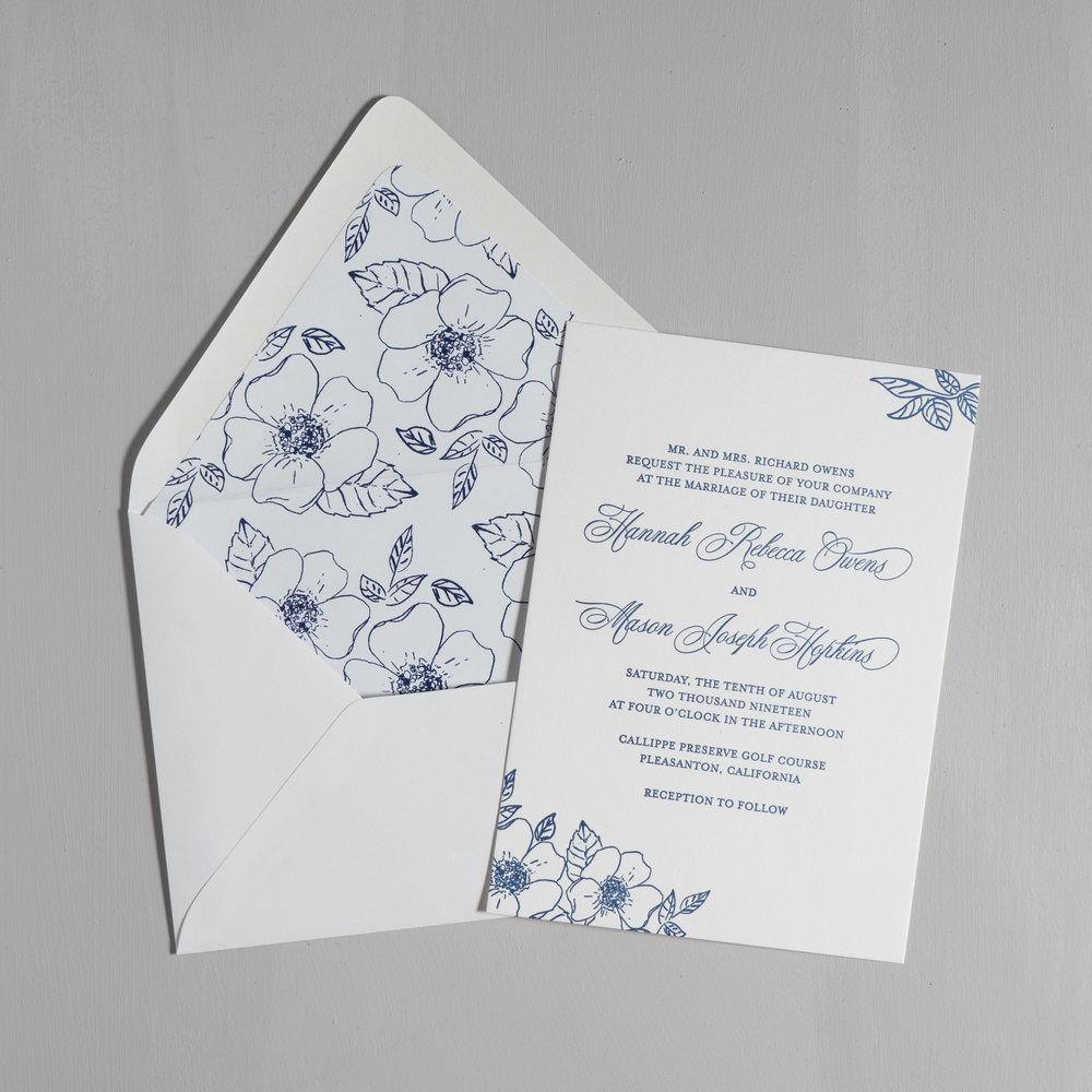 Elegant Anemone Letterpress Wedding Invitations by Just Jurf-5.jpg
