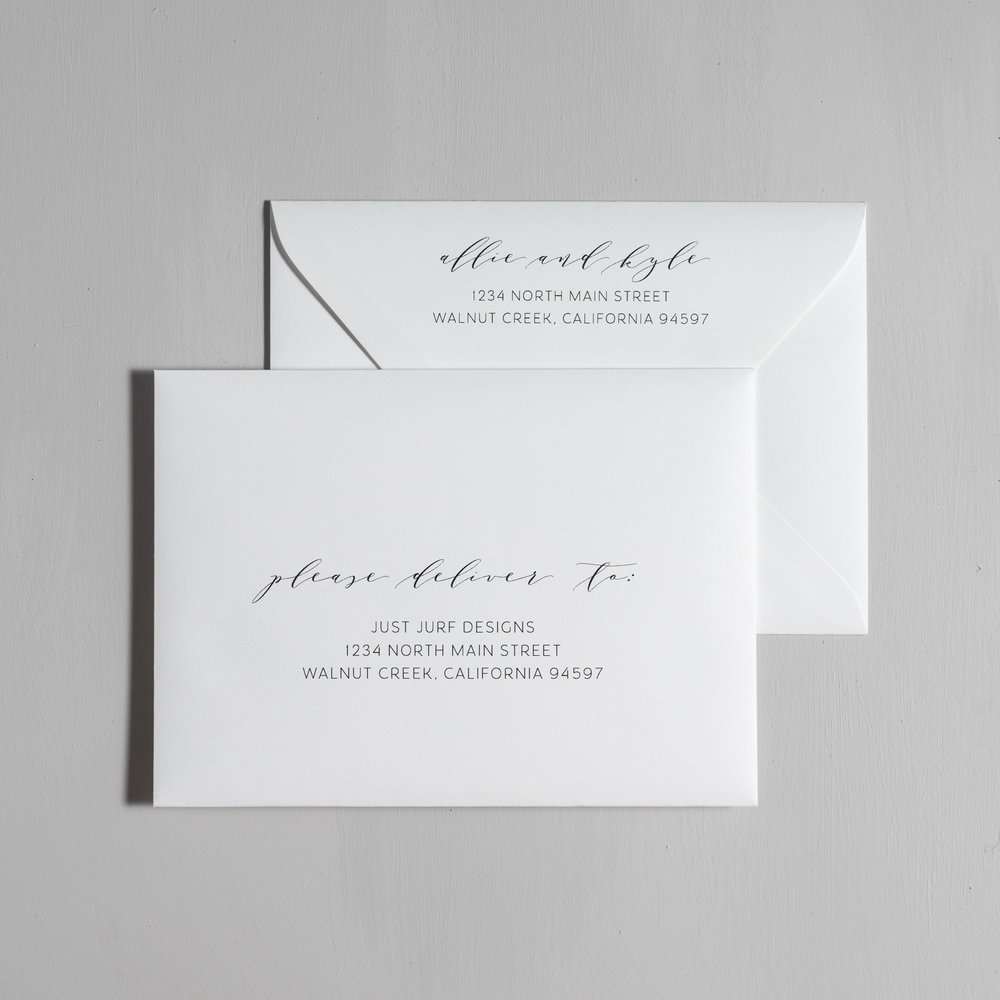 Modern Greenery V2 Letterpress Wedding Invitations by Just Jurf-7.jpg