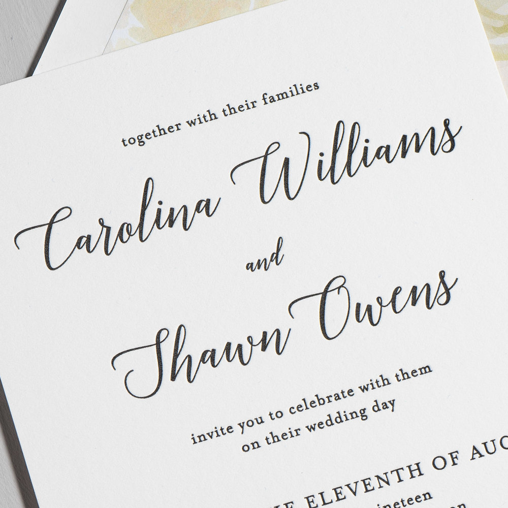 *Elegant Calligraphy Letterpress Wedding Invitations by Just Jurf-8b.jpg