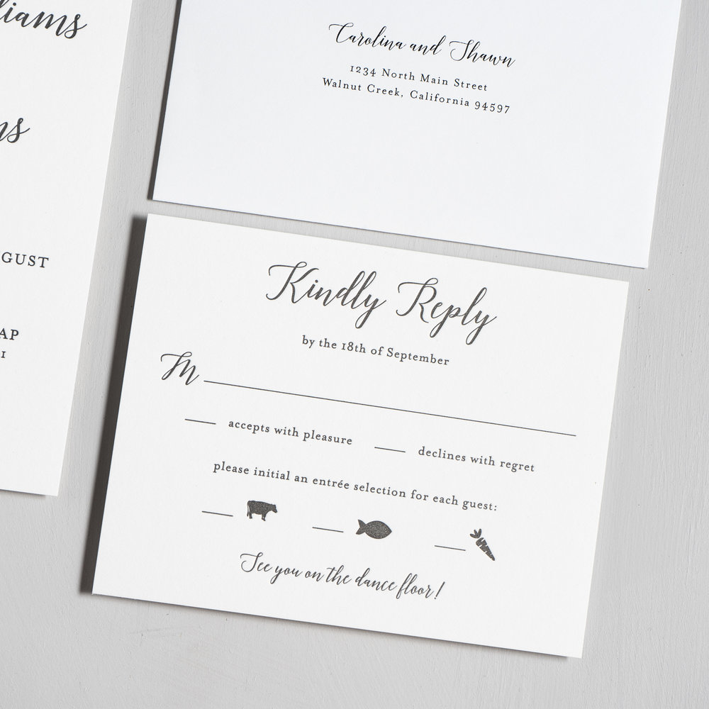 Elegant Calligraphy Letterpress Wedding Invitations by Just Jurf-4.jpg