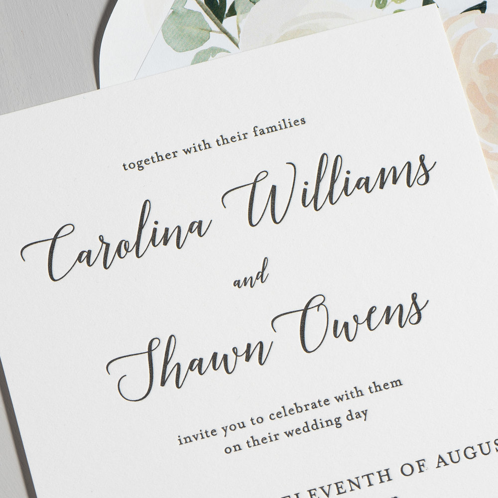 *Blush Floral Calligraphy Letterpress Wedding Invitations by Just Jurf-8b.jpg