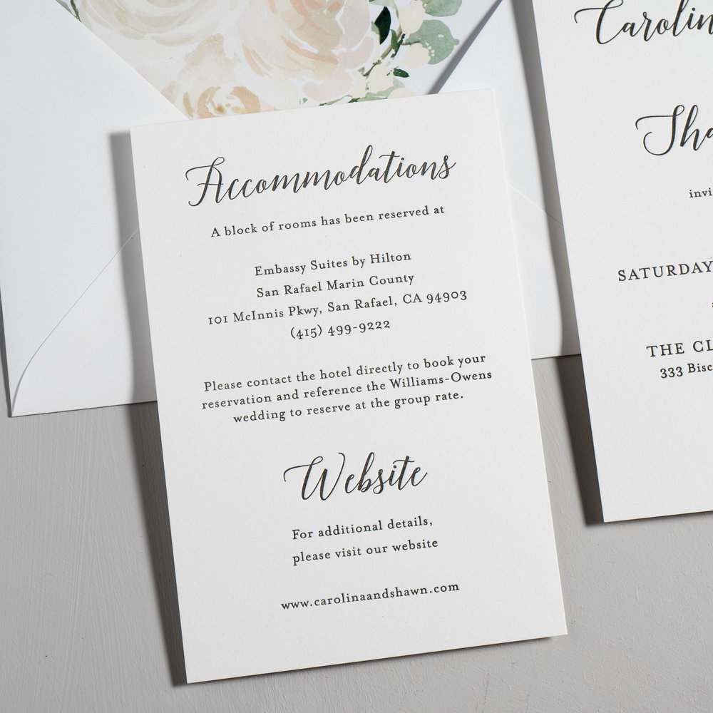 Blush Floral Calligraphy Letterpress Wedding Invitations by Just Jurf-3.jpg